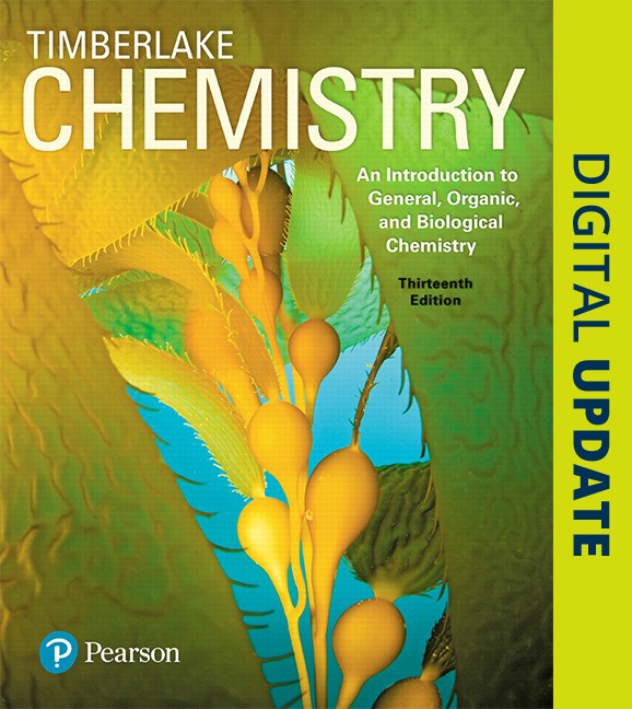 Chemistry: An Introduction to General, Organic, and Biological Chemistry Plus MasteringChemistry with Pearson eText -- Access Card Package, 13th Edition